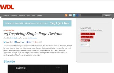 http://webdesignledger.com/inspiration/23-inspiring-single-page-designs