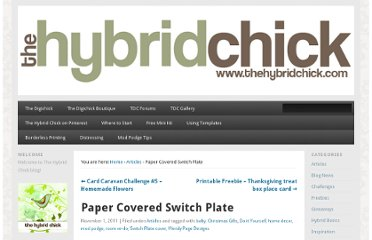 http://www.thehybridchick.com/2011/11/paper-covered-switch-plate/
