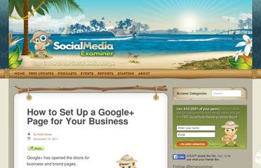 http://www.socialmediaexaminer.com/how-to-set-up-a-google-page-for-your-business/