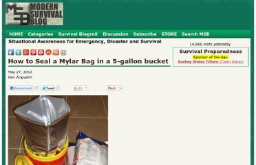 http://modernsurvivalblog.com/preps/how-to-seal-a-mylar-bag-in-a-5-gallon-bucket/