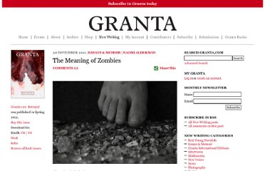 http://www.granta.com/Online-Only/The-Meaning-of-Zombies