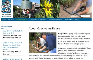 http://greywateraction.org/greywater-recycling