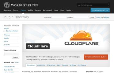 http://wordpress.org/extend/plugins/cloudflare/