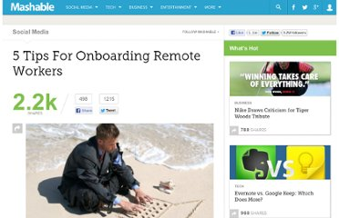 http://mashable.com/2011/11/14/onboarding-remote-workers/