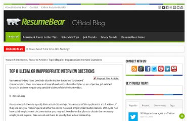 http://blog.resumebear.com/featured-articles/top-8-illegal-or-inappropriate-interview-questions/
