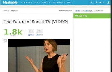 http://mashable.com/2011/11/14/social-tv-media-summit-video/