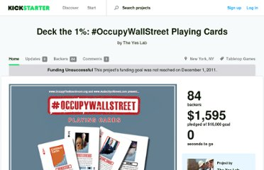 http://www.kickstarter.com/projects/yeslab/deck-the-1-occupywallstreet-playing-cards