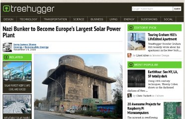 http://www.treehugger.com/renewable-energy/nazi-bunker-become-europes-largest-solar-power-plant.html