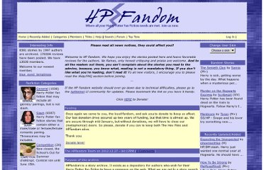 http hp adultfanfiction net