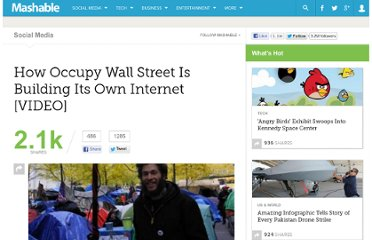 http://mashable.com/2011/11/14/how-occupy-wall-street-is-building-its-own-internet-video/