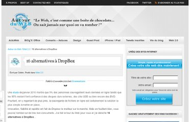 http://www.autourduweb.fr/16-alternatives-a-dropbox/