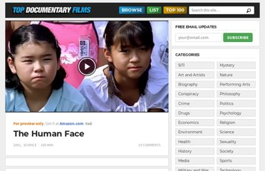 http://topdocumentaryfilms.com/the-human-face/