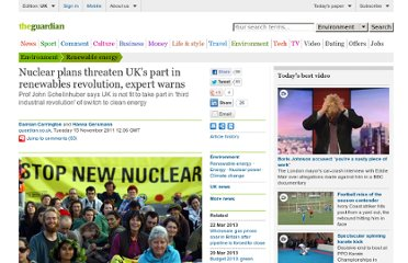 http://www.guardian.co.uk/environment/2011/nov/15/nuclear-renewables-schellnhuber