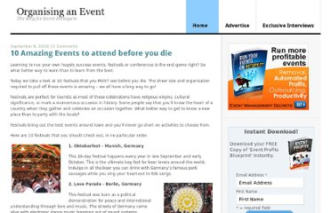 http://www.organisinganevent.com/10-amazing-events-to-attend-before-you-die/