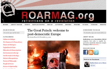 http://roarmag.org/2011/11/crisis-europe-democracy-italy-greece-frankfurt-group/