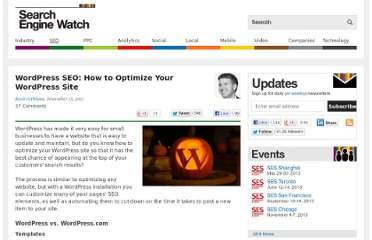 http://searchenginewatch.com/article/2124917/WordPress-SEO-How-to-Optimize-Your-WordPress-Site