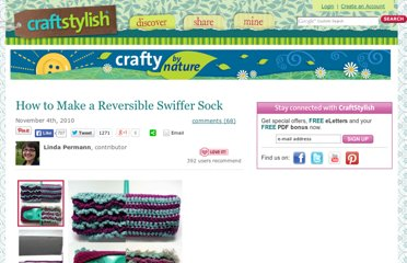http://www.craftstylish.com/item/44816/how-to-make-a-reversible-swiffer-sock