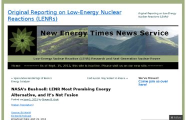 http://blog.newenergytimes.com/2011/06/01/nasas-bushnell-lenr-most-promising-energy-alternative-and-its-not-fusion/