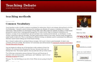 http://teachingdebate.typepad.com/teaching_debate/teaching_methods/
