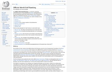 http://en.wikipedia.org/wiki/Official_World_Golf_Ranking