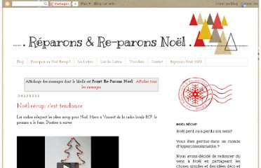 http://www.reparonsnoel.org/search/label/Projet%20Re-Parons%20No%C3%ABl