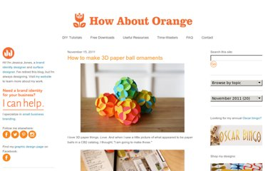 http://howaboutorange.blogspot.com/2011/11/how-to-make-3d-paper-ball-ornaments.html