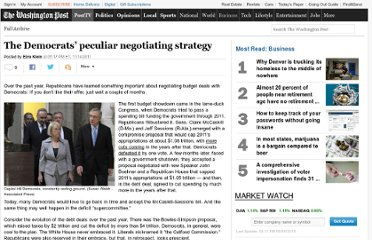 http://www.washingtonpost.com/blogs/ezra-klein/post/the-democrats-peculiar-negotiating-strategy/2011/08/25/gIQAzEDsLN_blog.html