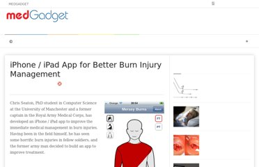 http://medgadget.com/2011/11/iphone-ipad-app-for-better-burn-injury-management.html