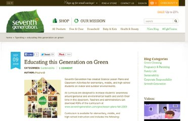 http://www.seventhgeneration.com/learn/blog/educating-generation-green?source=email