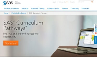http://www.sas.com/govedu/edu/curriculum/index.html