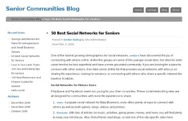 http://www.seniorhome.net/blog/2008/50-best-social-networks-for-seniors/