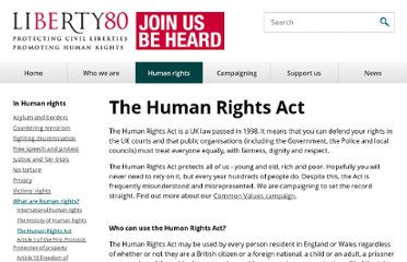 http://www.liberty-human-rights.org.uk/human-rights/human-rights/the-human-rights-act/index.php