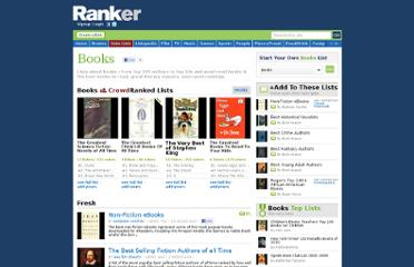 http://www.ranker.com/list-of/books/