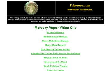 http://www.tuberose.com/Mercury_Vapor_Video.html