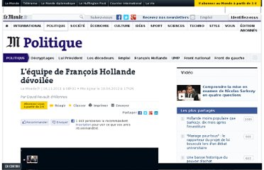 http://www.lemonde.fr/politique/article/2011/11/16/l-equipe-de-francois-hollande-devoilee_1604247_823448.html