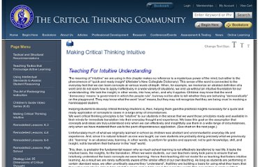 http://www.criticalthinking.org/pages/making-critical-thinking-intuitive-using-drama-examples-and-images/600