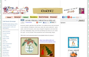 http://crochet.craftgossip.com/some-fresh-christmas-ideas/2007/11/12/