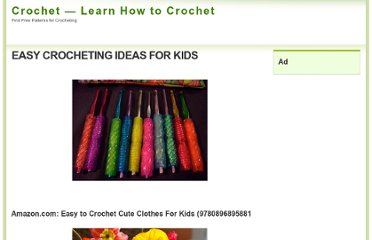 http://chetcro.com/easy-crocheting-ideas-for-kids/