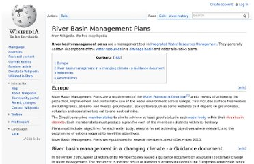 http://en.wikipedia.org/wiki/River_Basin_Management_Plans