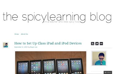 http://spicylearning.wordpress.com/2010/09/04/how-to-set-up-class-ipads-and-ipods/