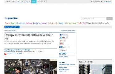 http://www.guardian.co.uk/commentisfree/2011/nov/16/critics-occupy-movement