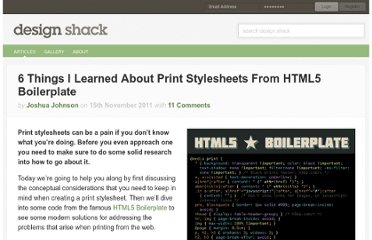 http://designshack.net/articles/css/6-thinks-i-learned-about-print-stylesheets-from-html5-boilerplate/