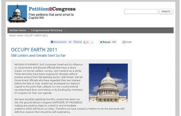 http://www.petition2congress.com/5527/occupy-earth-2011