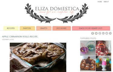 http://www.elizadomestica.com/recipes/breakfast-recipes/apple-cinnamon-rolls-recipe
