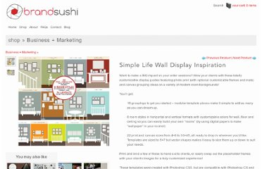 http://www.brandsushi.com/shop/marketing/simple-life-wall-display