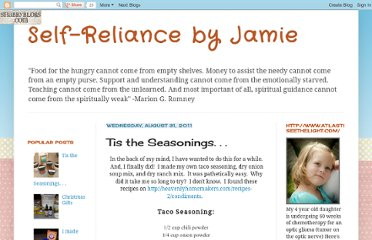http://selfreliancebyjamie.blogspot.com/2011/08/tis-seasonings.html