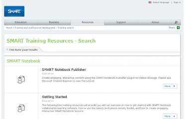 http://www.smarttech.com/us/Resources/Training/Training+Search?Products=SMART%20Notebook%20collaborative%20learning%20software&Audience=All%20audiences&Budget=All%20budgets&Training%20Type=Free%20Resources