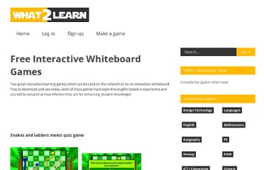 http://www.what2learn.com/free-interactive-whiteboard-game/