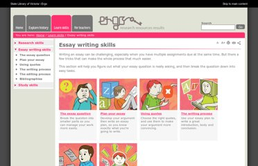 http://ergo.slv.vic.gov.au/learn-skills/essay-writing-skills