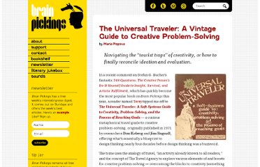 http://www.brainpickings.org/index.php/2011/11/11/the-universal-traveler-koberg-bagnall/